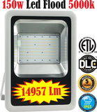 Commercial Outdoor Led Flood Lights: Canada 150w 5000k Yard Industrial - LED Light World