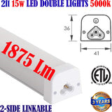 Kitchen Under Cabinet Lighting, Canada: Led 2ft 15w 1875Lm 5000k Counter Shelf - LED Light World