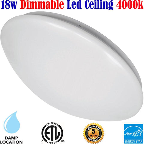 Bathroom Lighting Canada: Led 18w 4000k Kitchen Hallway Bedroom Stairs - LED Light World