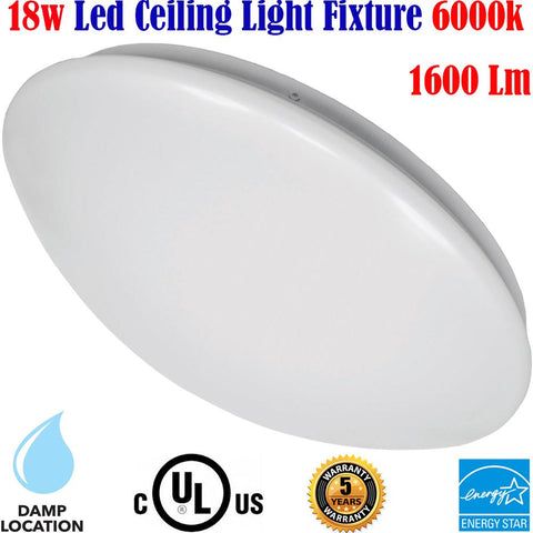 Very Bright Ceiling Lights, Canada 18w 6000k Brightest Kitchen Hallway Stairs - LED Light World