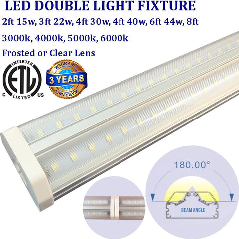 3ft Led Tube, Canada 22w Clear 6000k Garage Shop Under Cabinet Counter - LED Light Canada