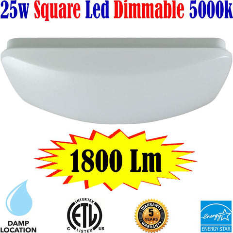 Dining Room Lighting: Canada Led 25w 5000k Kitchen Living Room Shop - LED Light World