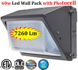 Dusk to Dawn Led Outdoor Lights: Pack 2, 80w 5000k Daylight