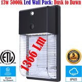 Dusk to Dawn Outdoor Lights, Canada 13w 5000k Led Outside House Exterior - LED Light World