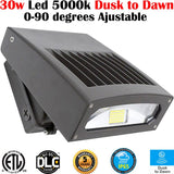 Outdoor Wall Lighting Canada: Led 30w 5000k Brightest Exterior House