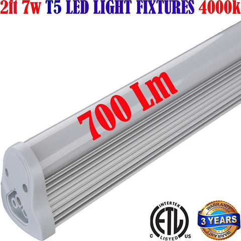 Led Under Cabinet Lighting Hardwired, Canada 2ft 7w 4000k Linkable 120V - LED Light World