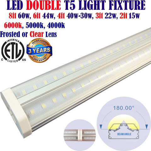 Led Under Cabinet Lighting Hardwired, Canada 3ft 22w Clear 5000k Garage Shop - LED Light Canada