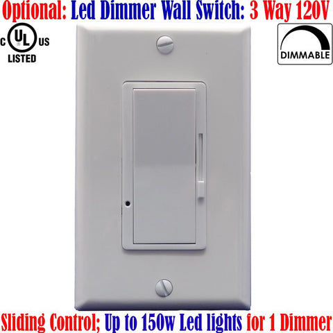 Three Way Dimmer Switch For Led Lights: Canada Dimmable 3 Way Dimmer