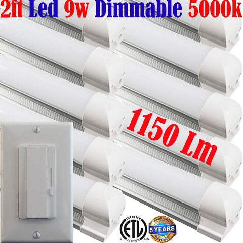 Dimmable Led Under Cabinet Lighting: Canada, Led Dimmer+10pack 2ft 9w 5000k - LED Light World