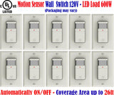 Occupancy Sensor Switch, Canada: 10 Pack Motion Detector 120v - LED Light World