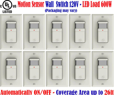 4 Foot Led Shop Lights: 10 Pack, 40w 4690Lm 6000k Super Bright
