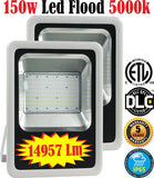 Led Flood Lights Canada: 2 Pack 150w Outdoor 5000k Daylight Commercial Yard - LED Light World