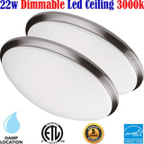 Dining Room Light Fixtures Canada 2pack Led 22w 3000k Bedroom Living Room - LED Light World