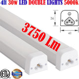 4 foot Led Shop Lights Canada: 2pack 15w 6500k Garage Workshop Linkable - LED Light World