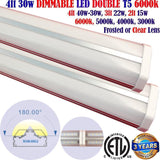 Linkable Led Shop Lights, Dimmable Canada: 2 pack 4ft 30w 4000k Linkable Garage - LED Light Canada