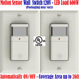 Motion Sensor Switch, Canada: 2 Pack  Occupancy Detector Light 120V - LED Light World