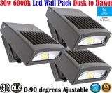 Outdoor Wall Lighting Canada: 3 Pack Led 30w 6000k Exterior Garage Exterior House - LED Light World