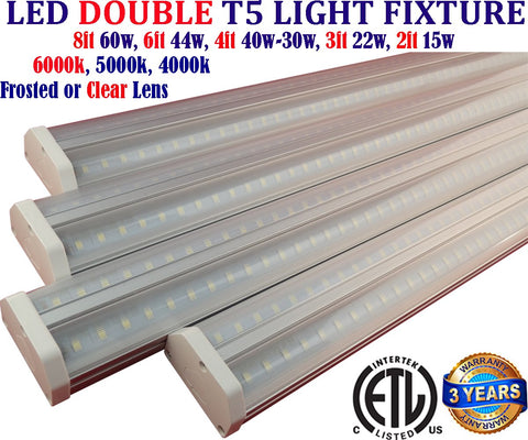 Led Lighting Toronto: Canada 4ft 4pack 40w Clear 5000k Garage Shop - LED Light World