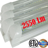 Led Tube Lights Canada: T8 4pack 4ft 22w Clear 6500k Garage Workshop - LED Light World