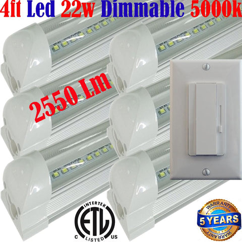 Led Shop Lights Canada, Dimmable