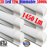 Under Counter Lighting Hardwired, Dimmable: Canada T8 6pack 3ft 12w 5000k Shop - LED Light World