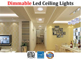 Modern Lighting Canada: 2pack Led 18w 5000k Bedroom Bathroom Kitchen - LED Light World