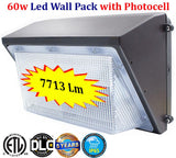 Bright Outdoor Lights: 2 Pack 60w Photocell 6000k Bright - LED Light World