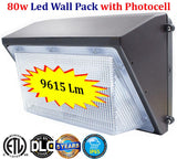 80 Watt Led Wall Pack: 80w Photocell 9615Lm 5000k Daylight - LED Light World