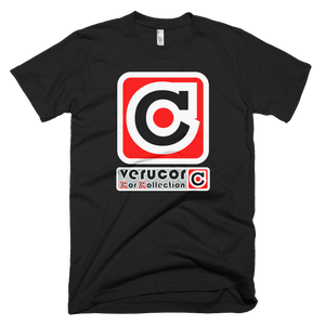 This is Veracore's t-shirt, Core Box, in Black.