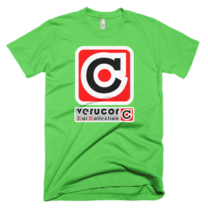 This is Veracore's t-shirt, Core Box, in Grass.