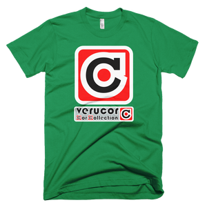 This is Veracore's t-shirt, Core Box, in Kelly Green.