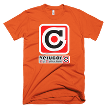 This is Veracore's t-shirt, Core Box, in Orange.