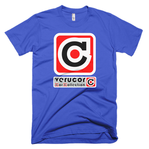 This is Veracore's t-shirt, Core Box, in Royal Blue.
