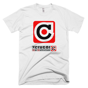 This is Veracore's t-shirt, Core Box, in White.