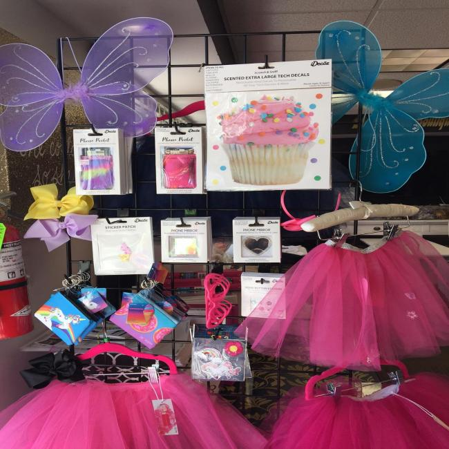 "Pink ""BLING IT"" Tutu with Rainbow, Sweet Pony and Flower Bling"