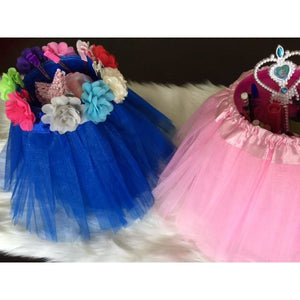 Blue Tutu Centerpiece