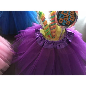 Purple Tutu Centerpiece