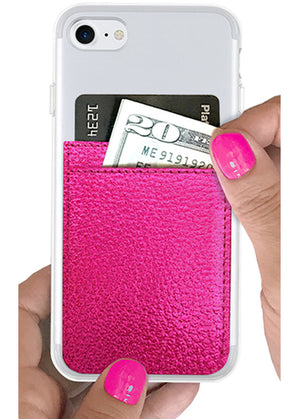 Hot Pink iPhone Pockets