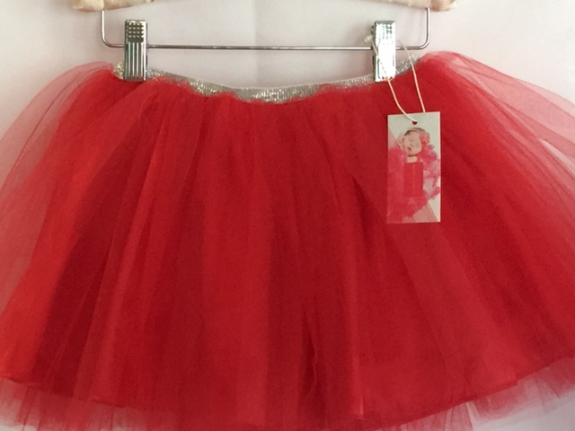 SIGNATURE TUTU WITH SPARKLE WAISTBAND + LINING - Select Your Color