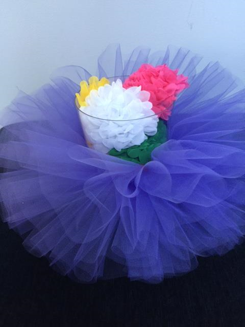 Ballerina Tutu Catchall - SELECT YOUR COLOR