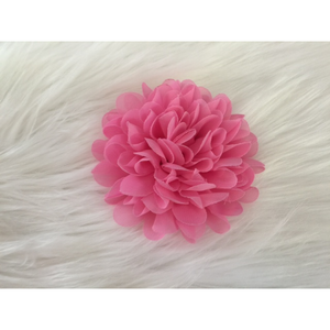 Flower Clips for Tutus or Hair - Hot Pink