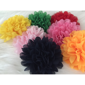 Flower Clips for Tutus or Hair - Green