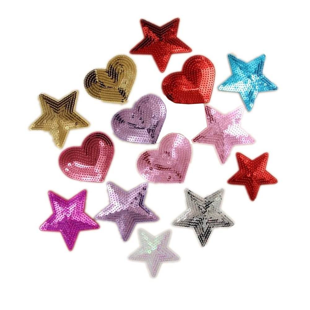 Hearts - Pink, Purple, Hot Pink (Pack of 3)