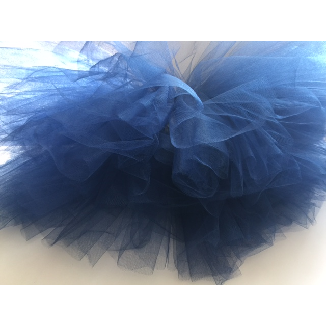 Navy Blue Ballerina Tutu Mini