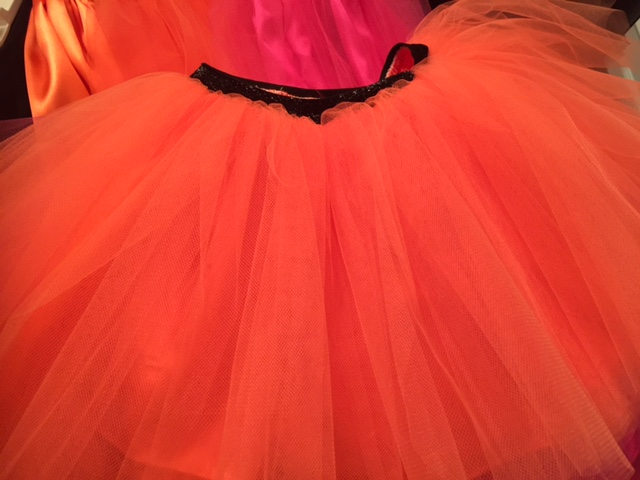 Halloween Signature Sparkle (Orange with Black Sparkle Waist)