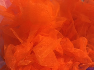 Orange Pettiskirt