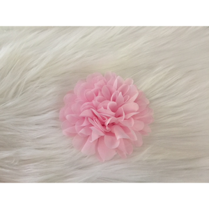 Flower Clips for Tutus or Hair - Sweet Pink