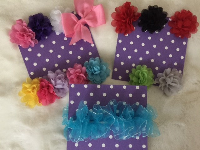 Mini Hair Clip Boards (Pack of 3)