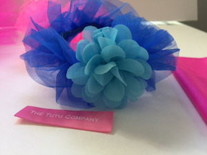 Royal Blue Tutu Bracelet