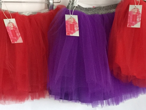 TTC SIGNATURE TUTU WITH SPARKLE WAISTBAND + LINING - Select Your Color